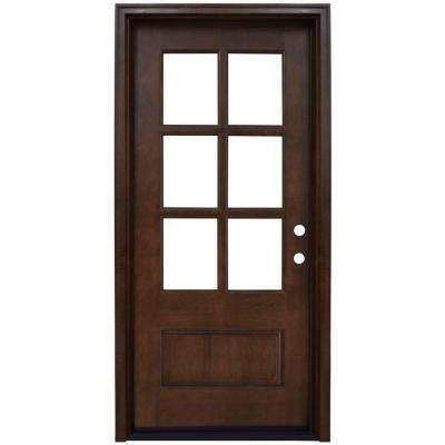 Wood Glass Front Door Front Doors Exterior Doors The Home Depot