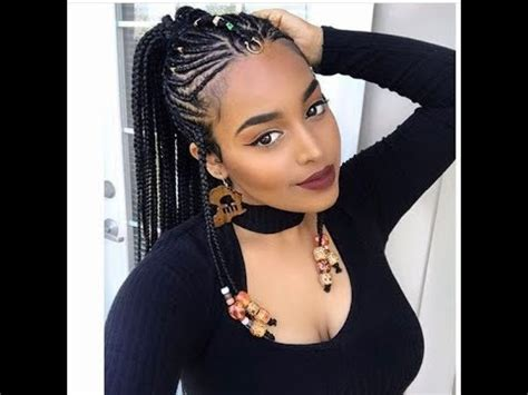 african fulani braids : inspirational hairstyles for
