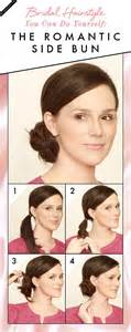 how to give myself the best hairstyle with a widows peak for best 25 side bun tutorial ideas on pinterest diy bridal