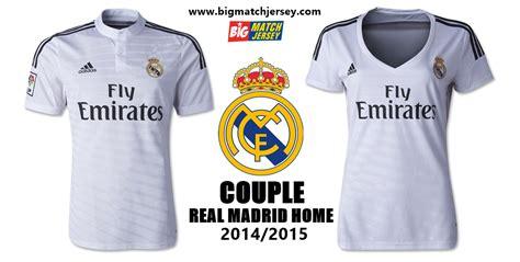 Jersey Real Madrid Home 1516 Grade Ori Liga Spanyol jersey real madrid home 2014 2015 big match