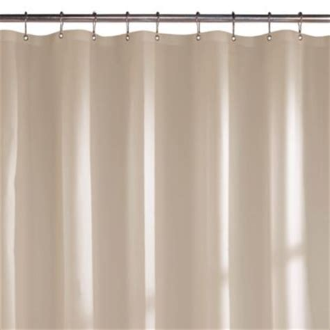 linen shower curtain liner buy white linen shower curtain from bed bath beyond