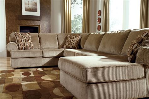 vista sectional vista cappuccino sectional right side chaise the
