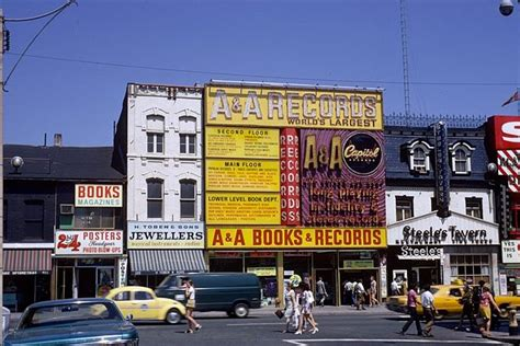 Toronto Ontario Canada Records File A A Records And S Tavern On Yonge Ca 1975 Toronto Ontario Canada