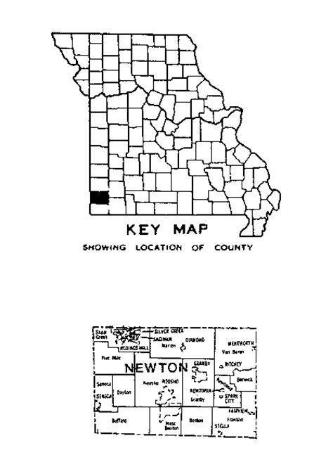 Newton County Clerk Of Court Records A Guide To Newton County Municipal Records On Microfilm