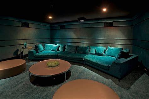 media room lounge 30 basement remodeling ideas inspiration