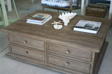 this rustic weathered coffee table is from our new range