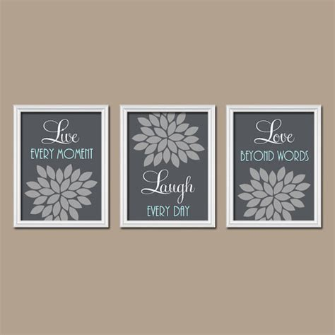 live love laugh bathroom set live laugh love wall art bedroom canvas or prints by trmdesign