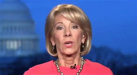 betsy devos interview watch betsy devos fall apart in disastrous back to back