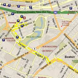 Boston Street Parking Map by Logan Airport Economy Parking Map Images