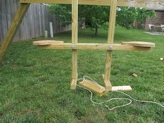 see saw swing diy project crazy wood see saw swing wood working