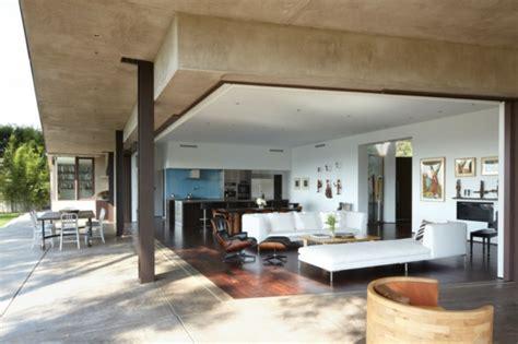 offenes wohnzimmer mandeville residenz griffin enright architects