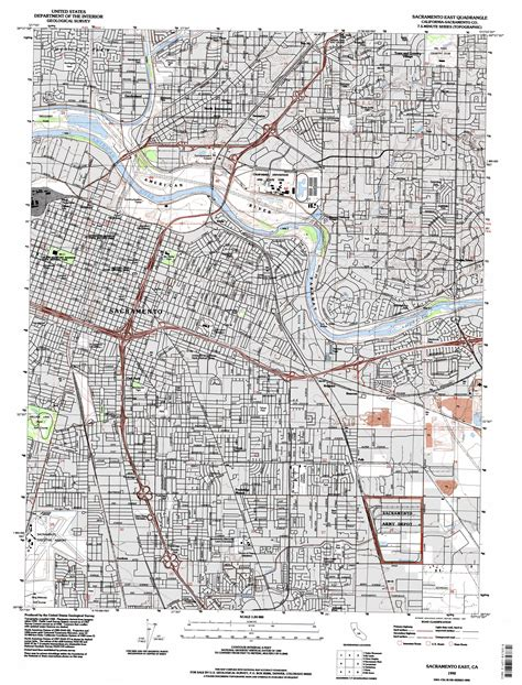 map of sacramento sacramento east topographic map ca usgs topo 38121e4