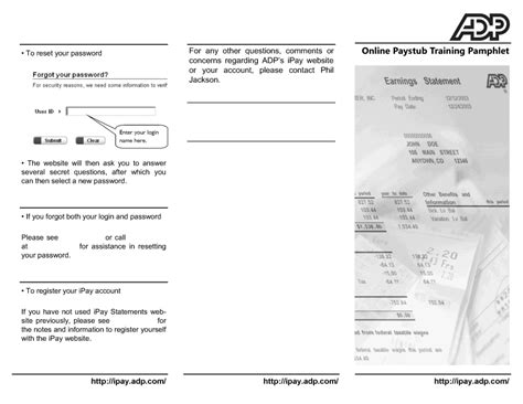 11 adp pay stubs template day care resume