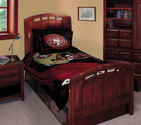 Nfl Crib Bedding Sets San Francisco 49ers Nfl Comforter Set 63 Quot X 86 Quot