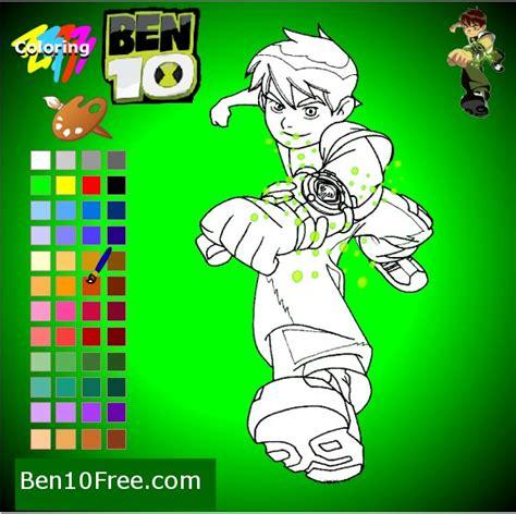 ben 10 painting free coloring pages ben 10 coloring free ben 10