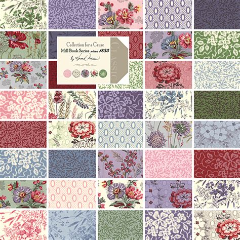 Quilt Fabric Collections by Moda Collections Mill Book Layer Cake 10 Quot Precut Fabric