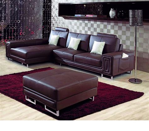 bonded leather sectional sofa dreamfurniture com 2265 modern bonded leather