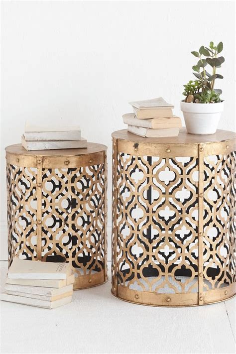 quatrefoil side table modern bedroom sussex by the metals inspiration and side tables on pinterest