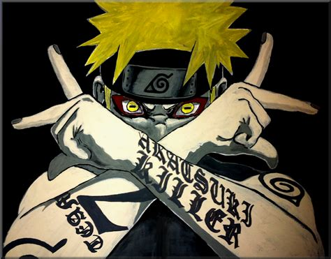 film anime gangster naruto by iareawesomeness on deviantart