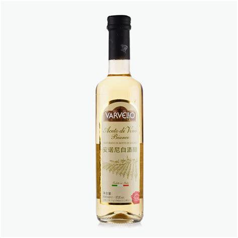 Shelf Of White Vinegar by Varvello White Wine Vinegar 500ml