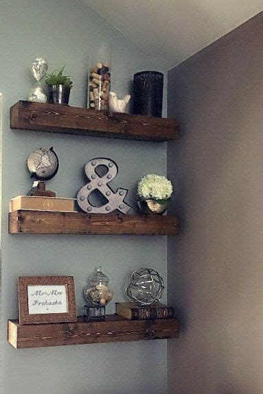 shelf decorations de 25 bedste id 233 er til floating shelf decor p 229