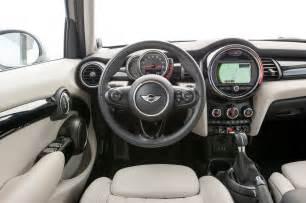 4 Door Mini Cooper Interior 2015 Mini Hardtop 4 Door Cooper S Review Test