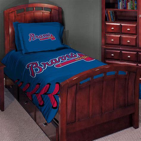 mlb comforter atlanta braves mlb twin comforter set 63 quot x 86 quot