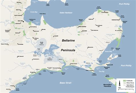 peninsula map bellarine peninsula wikiwand