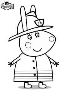 peppa pig coloring page free coloring pages of peppa pig birthday