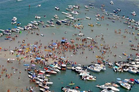 party boat fishing st george island the sandbar from above jupiter florida fans on fb