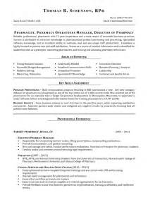 Perfect Job Resume Example Pharmacy Manager Resume Best Resume Sample