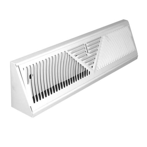 Return Ceiling Diffuser by Truaire 24 In Baseboard Diffuser Return H120rw The Home
