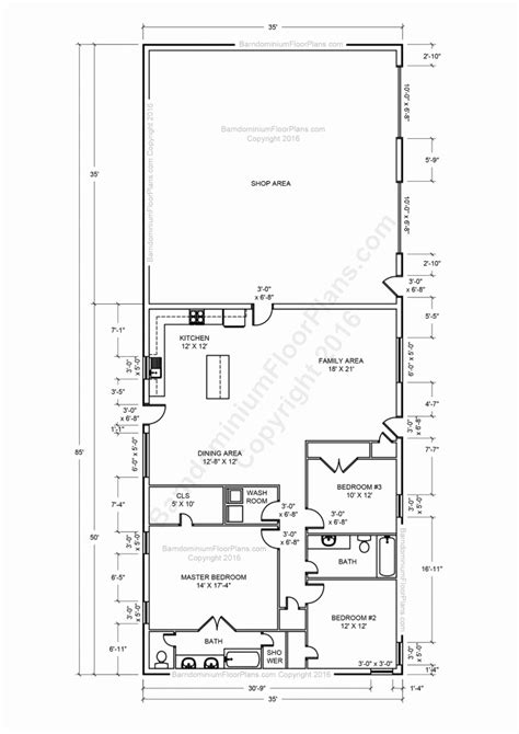 shop plans with living space metal shop with living quarters floor plans beautiful