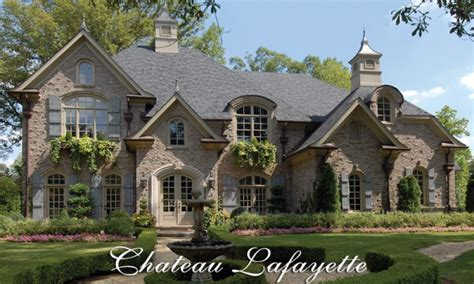 Chateau Home Plans by Small Chateau Country Chateau House Plans