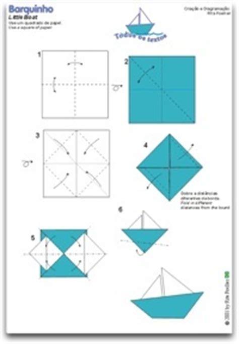 Folding Paper Boats That Float - como fazer um barquinho de papel fa 199 a voc 202 mesmo