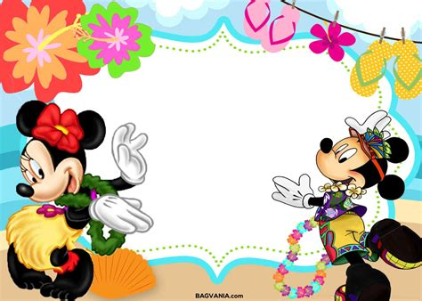 mickey mouse template free birthday template free mickey and mouse