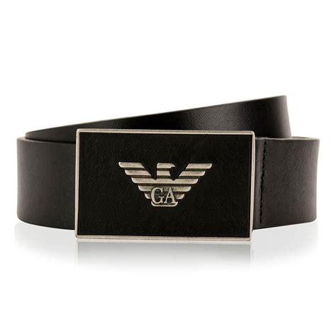 Giorgio Armani Belt Ax006 emporio armani logo plate belt