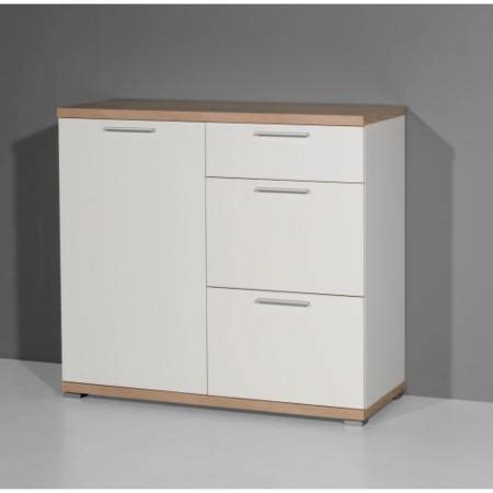 White Chest Of Drawers With Oak Top germania top chest of drawers in white and oak furniture123