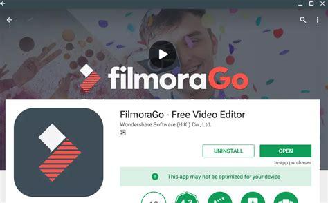 tutorial edit video dengan filmora buat video dalam android dengan filmora go mudah mengajar