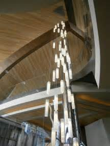 High Ceiling Chandelier Modern Lighting For Foyer Modern Entry Stairway Lights