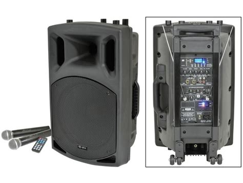 Mp3 Player Mit Bluetooth 1070 by Qtx Qx12pa Portable Pa Speaker With Usb Sd Fm Player