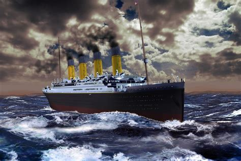 when did the titanic sink how did the unsinkable titanic sink wonderopolis