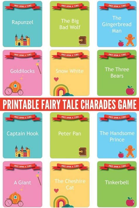 printable charades cards pinterest the world s catalog of ideas