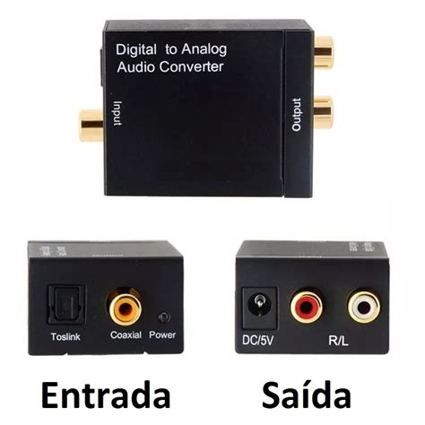 Kit Audio kit conversor audio digital p rca cabo 211 ptico toslink 1