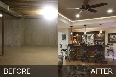brian amp kellis basement before amp after pictures home