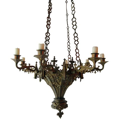 HomeOfficeDecoration   Gothic candle chandeliers