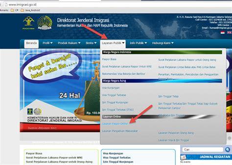 pembuatan paspor online imigrasi dimensi tutupbotol proses pembuatan paspor online part i