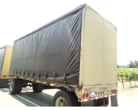 curtain side trailers for sale 2003 reliance curtain side trailer for sale healdsburg