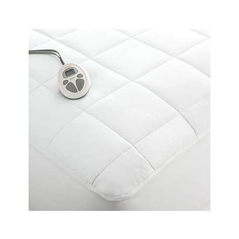 Sunbeam Therapedic Heated Blanket by Sunbeam Therapedic Deluxe Quilted Heated Electric Mattress