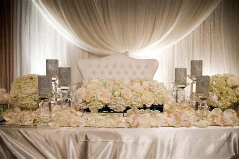 wedding head table wedding loveseat